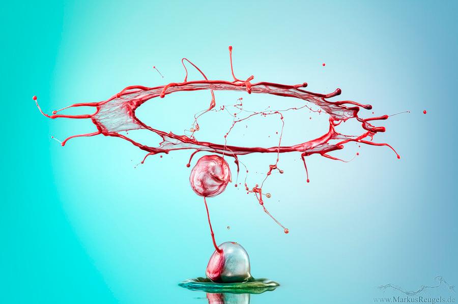 صور مدهشة لقطرات الماء بالتصوير فائق السرعة!!