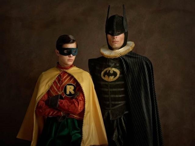 إلتقاء الأبطال المشهورة بالفن الفلمنكي