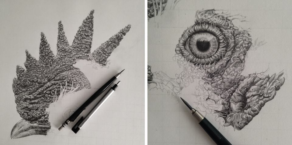 رسومات واقعية جداً بقلم رصاص