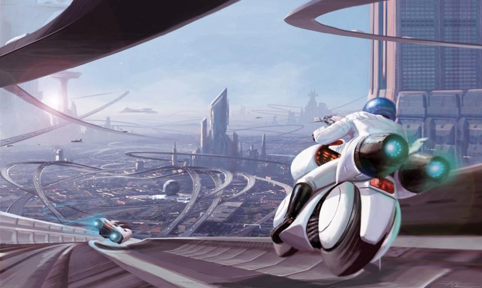 الرسم والخيال العلمي