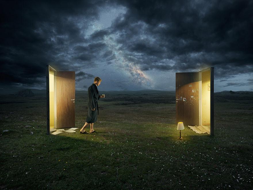 أوهام بصرية من خبير الفوتوشوب السويدي اريك يوهانسون