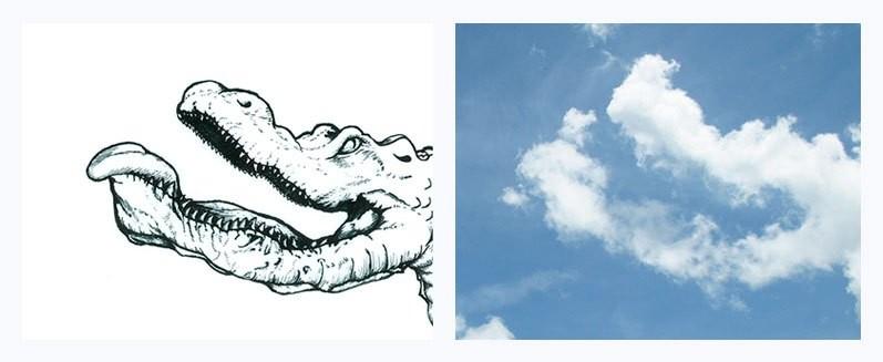 الرسم على الغيوم