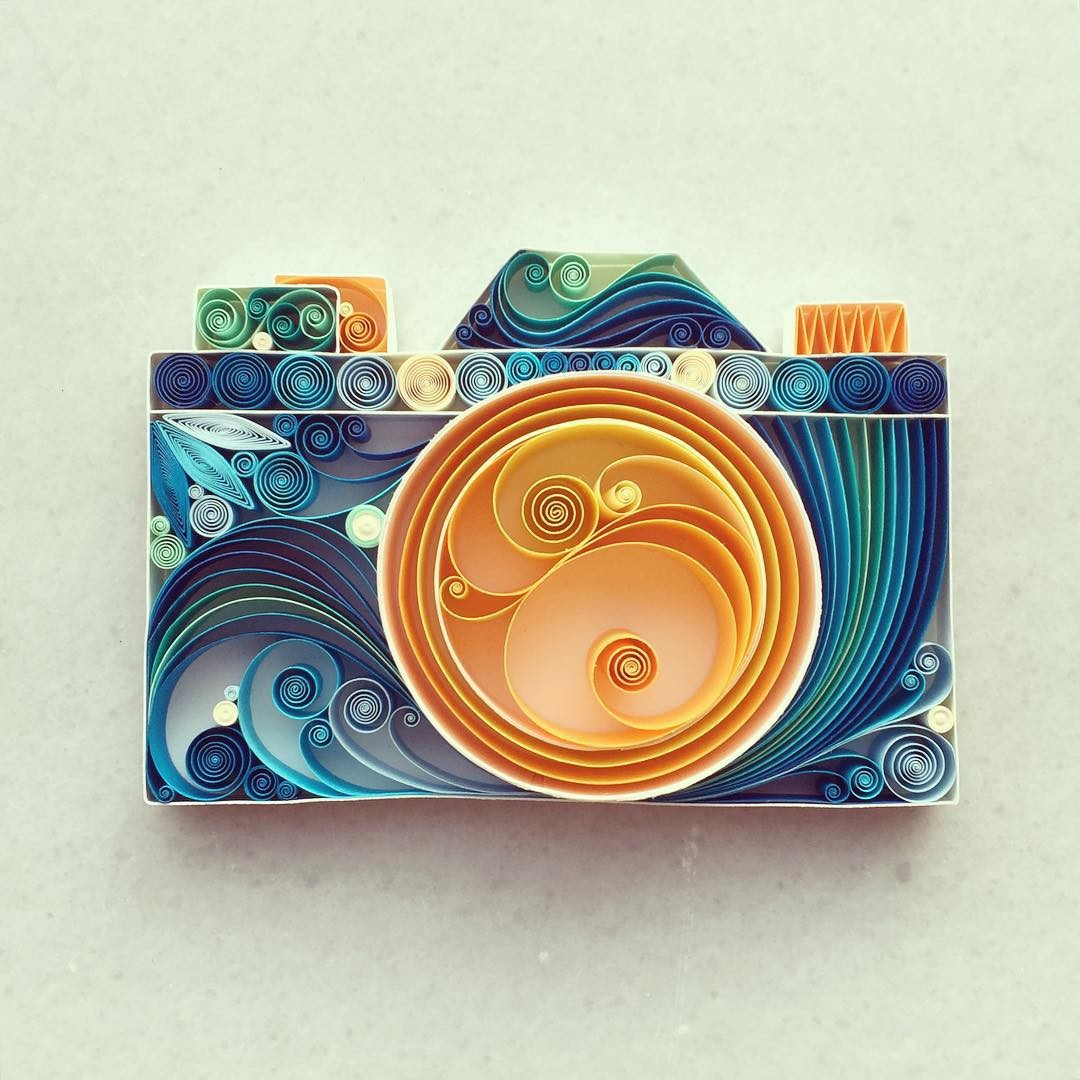 تصاميم الورق الملونة من صناعة الفنانة سينا رونا