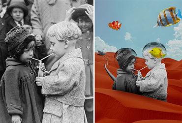 أحوّل الصور القديمة إلى لوحات رقمية حديثة