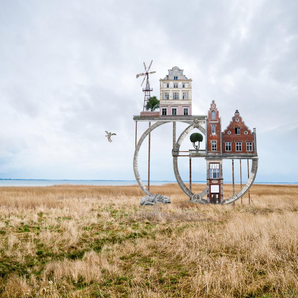 كولاجات معمارية فنية لماثياس جونغ تبدو وكأنها قصائد مرئية