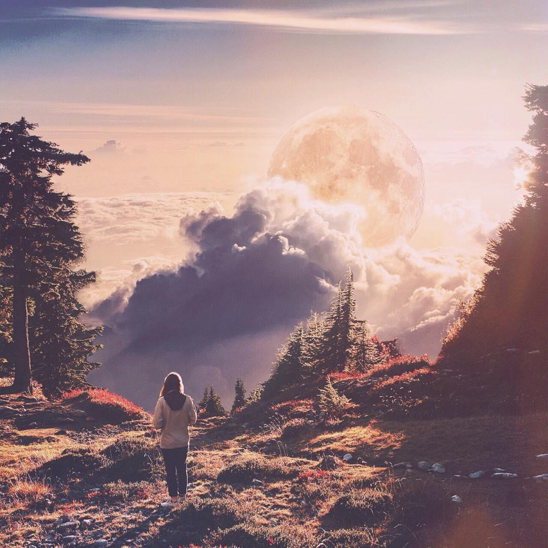 صور سريالية  لمناظر طبيعية تتحدى قوانين الجاذبية