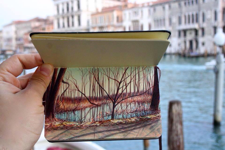 رسومات رائعة بأقلام الحبر الملونة