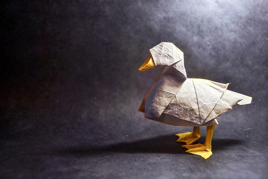 فن أوريغامي مذهل من صنع الفنان الإسباني غونزالو كالفو