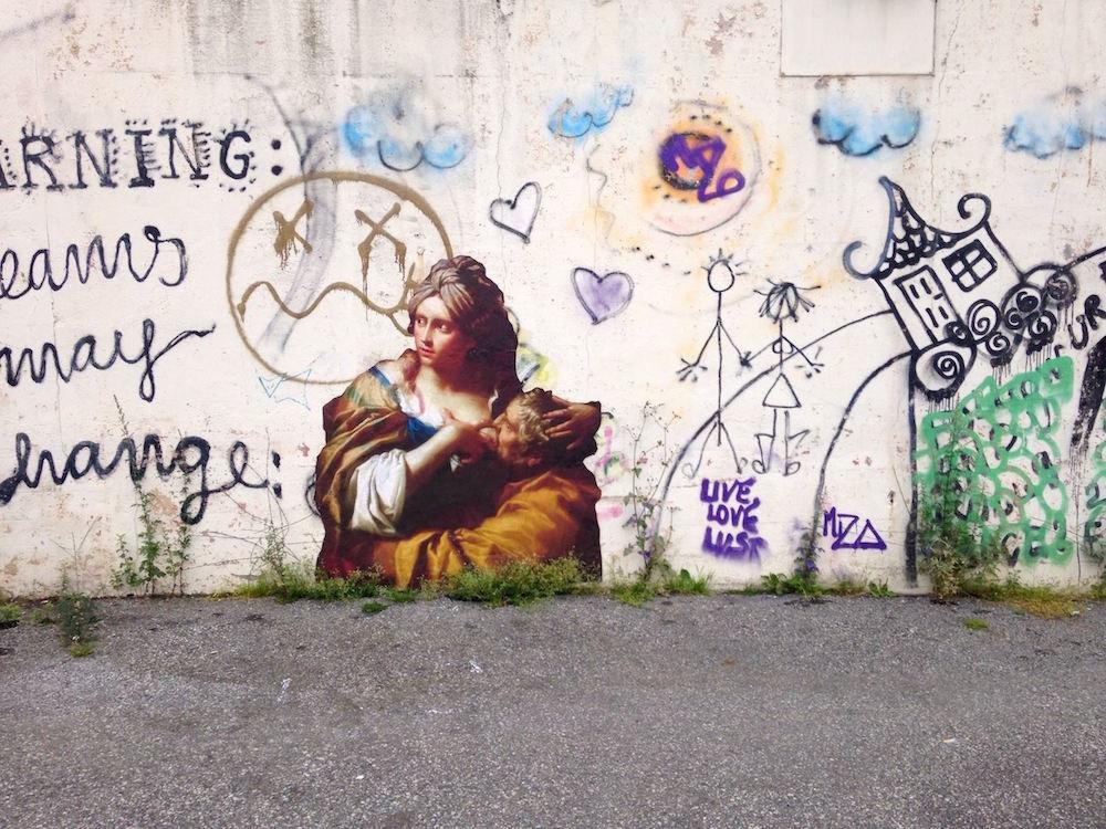 لوحات شهيرة  تتحرر من المتاحف وتجوب الشوارع