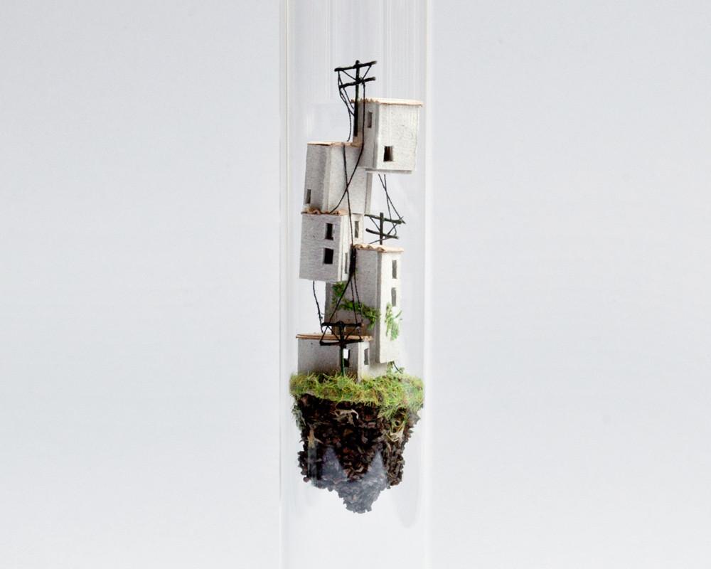 بيوت ومساكن داخل أنابيب المختبرات