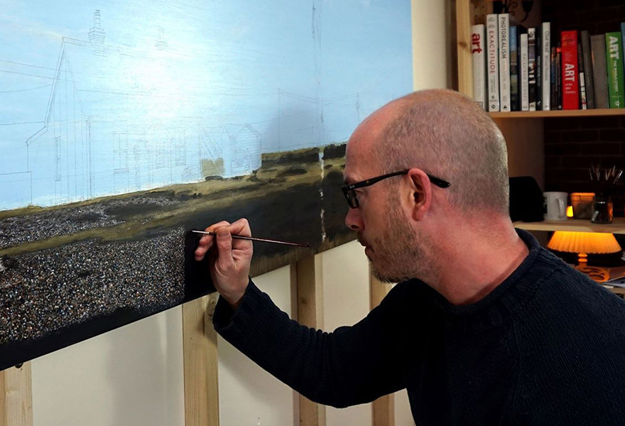 فنان اكتشف موهبته الفنية بمحض الصدفة