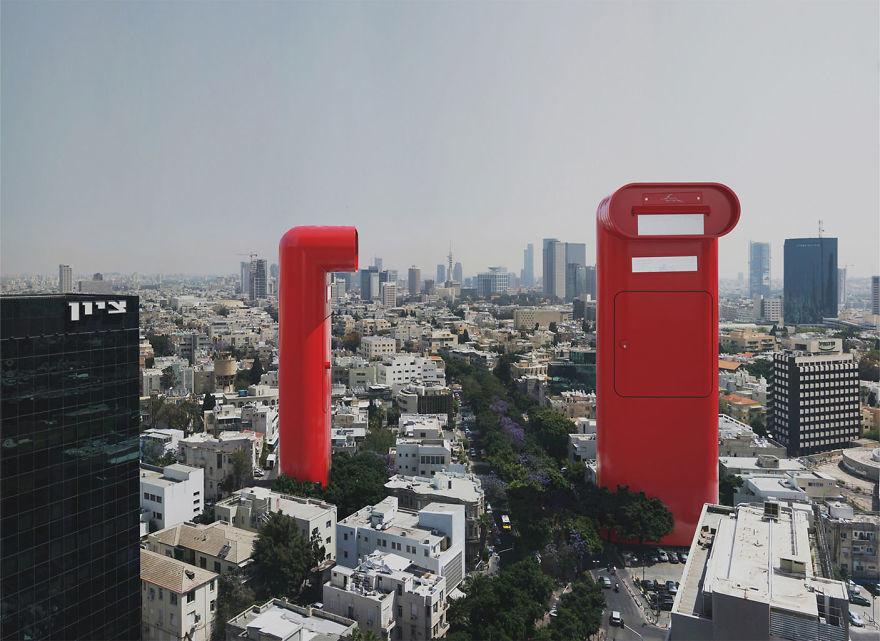 فنان معماري يحول عمارات من مدن مختلفة إلى أبنية خيالية