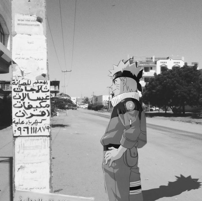 الأنيمي الياباني في الحياة اليومية في السودان