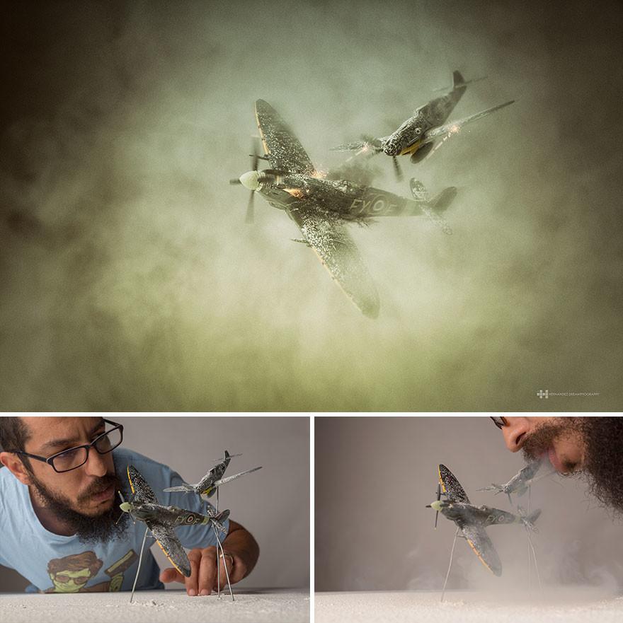 ألعاب صغيرة بخيال كبير للمصور المكسيكي فيلكس هيرنانديز