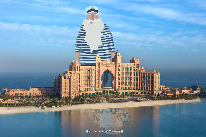 الفنان بشير مريش: رسوم كاريكاتورية تتفاعل مع مدن عربية