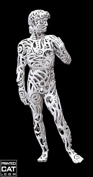 من أجمل الأعمال الفنية المطبوعة بثلاث أبعاد (3D Printing)