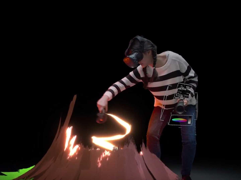 جوجل تطلق فرشاة الرسم في الواقع الافتراضي