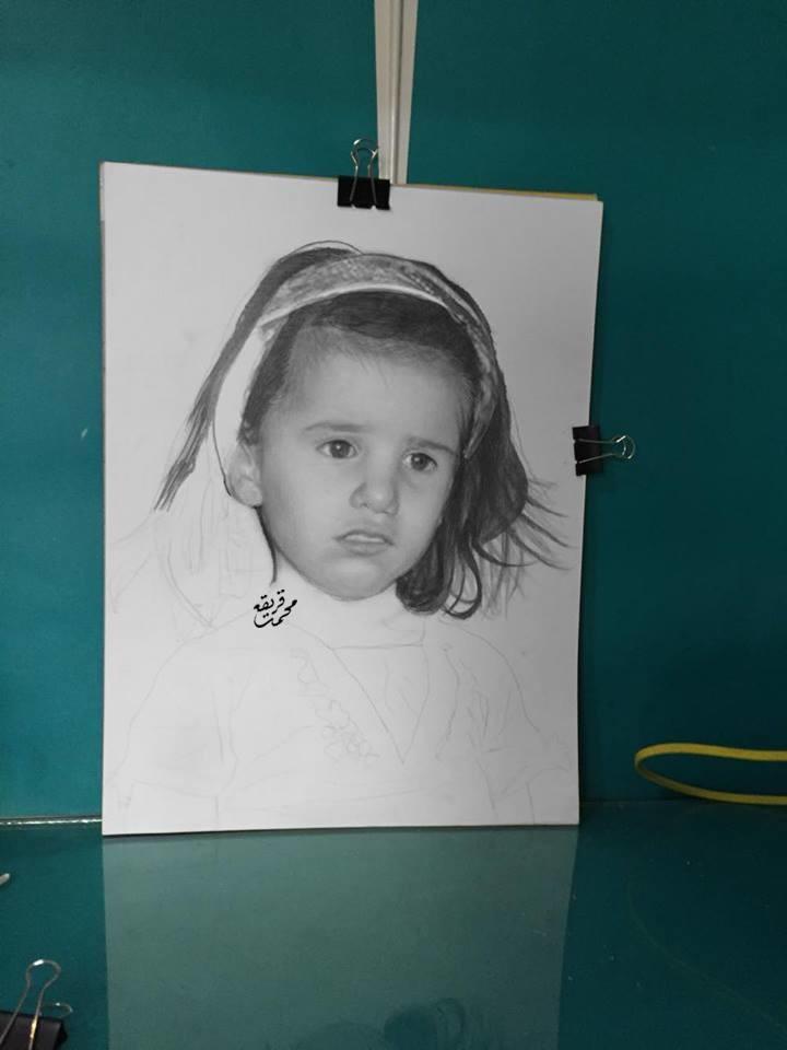 محمد قريقع | إبداع الفنان الفلسطيني الشاب