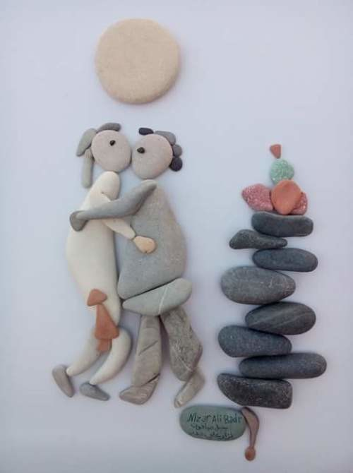 قصص من الحجارة لنزار البدر