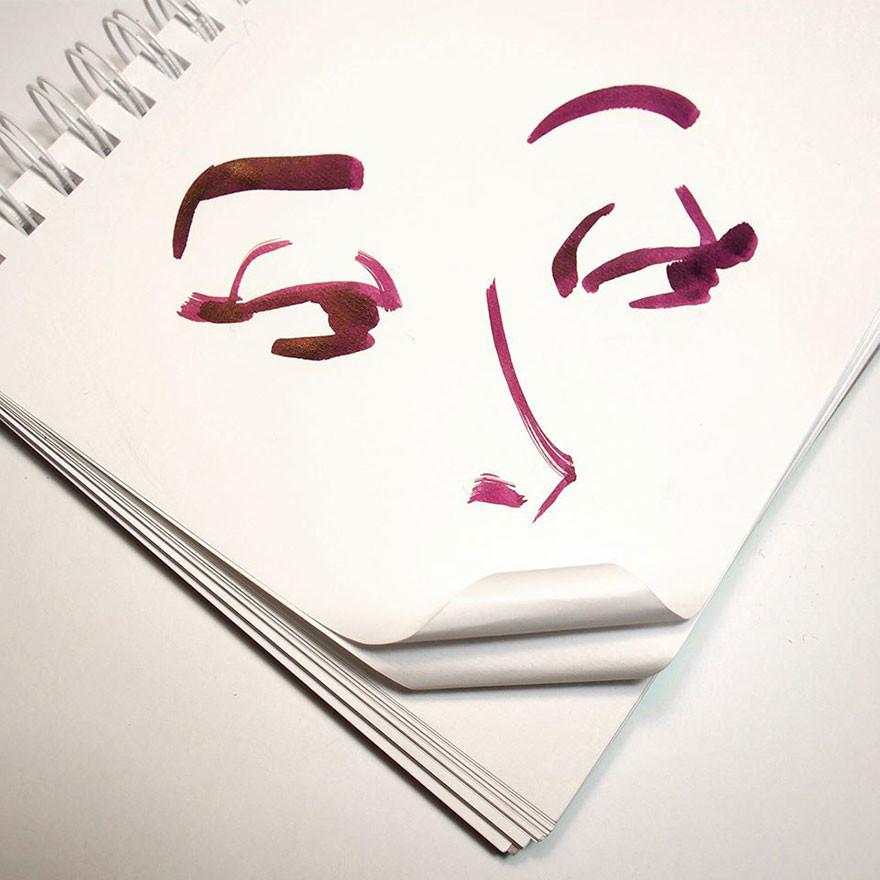 رسومات تكملها أشياء من حياتنا اليومية