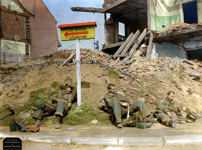 صور ملونة للحرب العالمية الثانية
