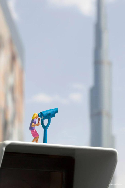 مشاهد فنية صغيرة مخبأة في أرجاء مدينة دبي