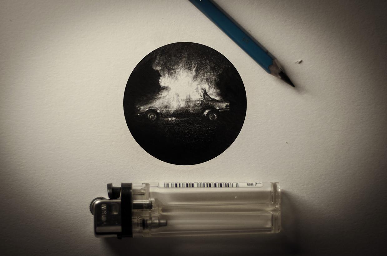 رسومات صغيرة جداً بقلم الرصاص للفنان ماتيو بيزارو