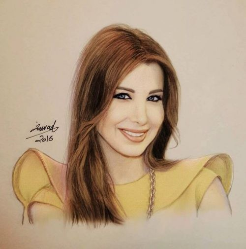فنان سوري يرسم صورا واقعية جداً لمشاهير عالميين