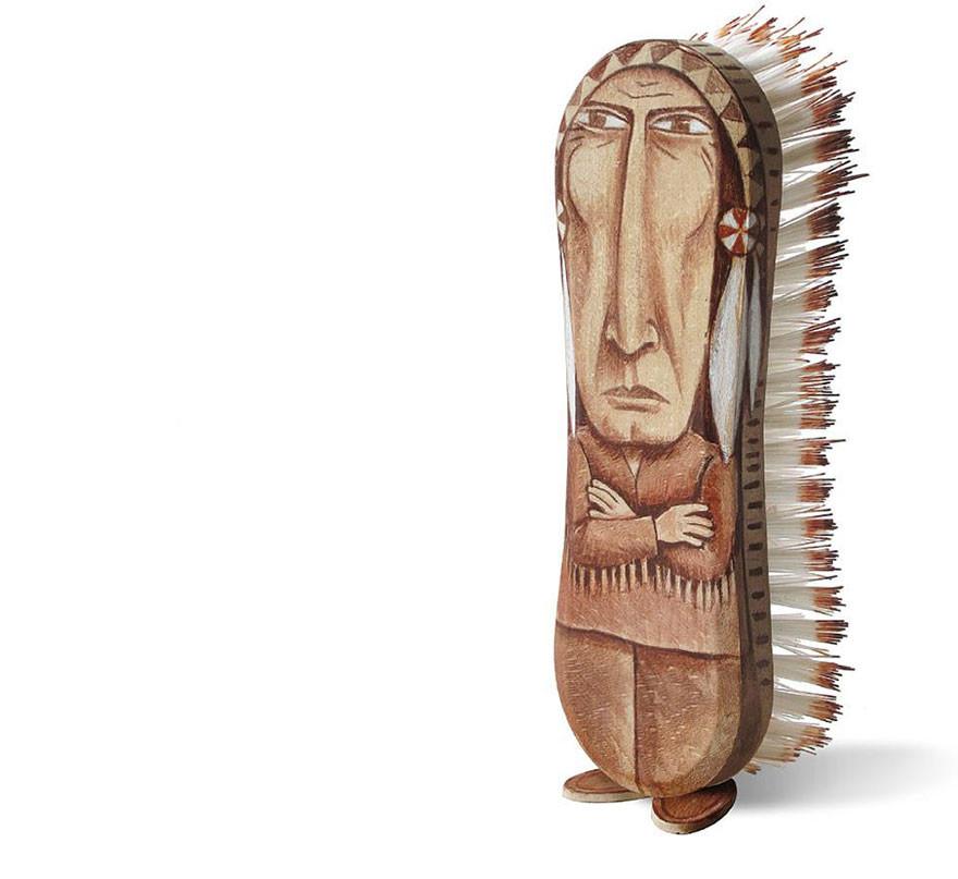 فنان فرنسي يحول أدوات عادية إلى شخصيات مسلية