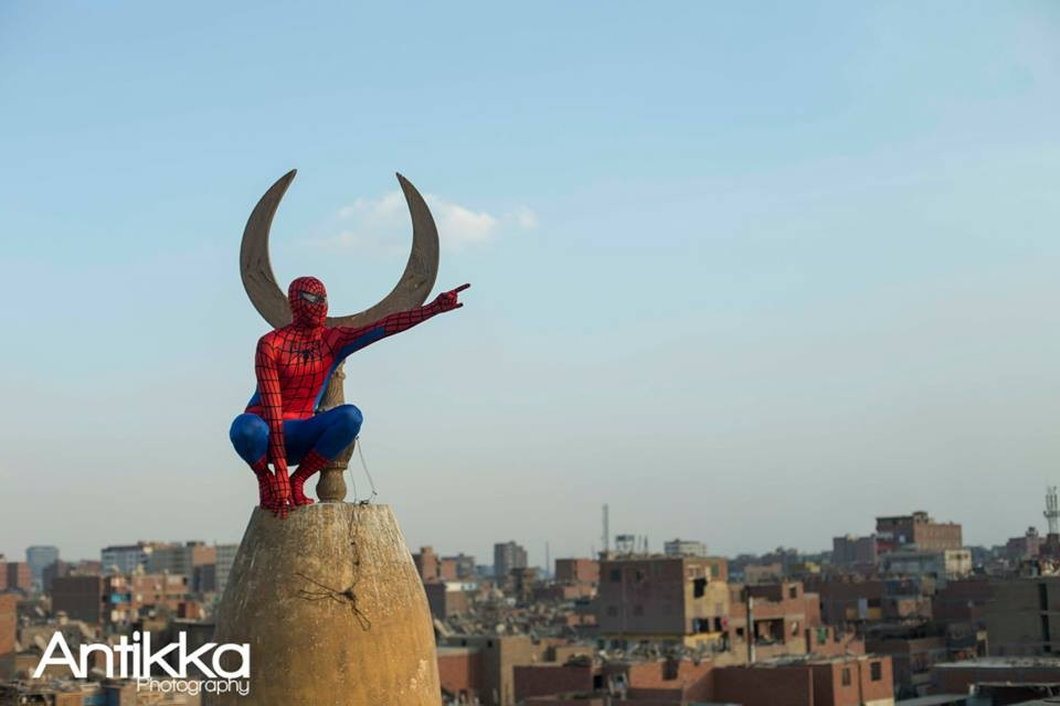 سبايدرمان مصر - بطل واقعي لشعب القاهرة