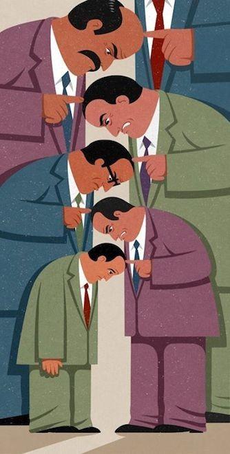 ٣٢ رسمة ريترو تعبر عن عيوب مجتمعنا اليوم