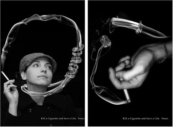 ٢٠ إعلان مؤثر لمكافحة التدخين