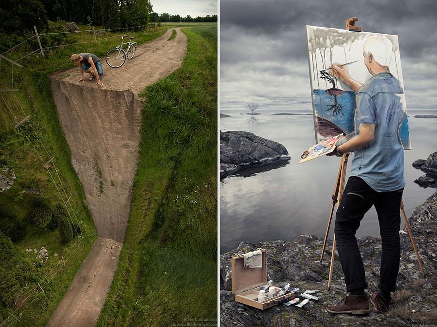 التلاعب بالصور: دمج الواقع والخيال