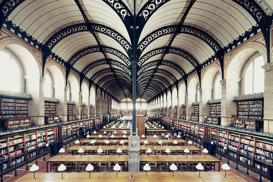 أجمل 25 مكتبة في العالم
